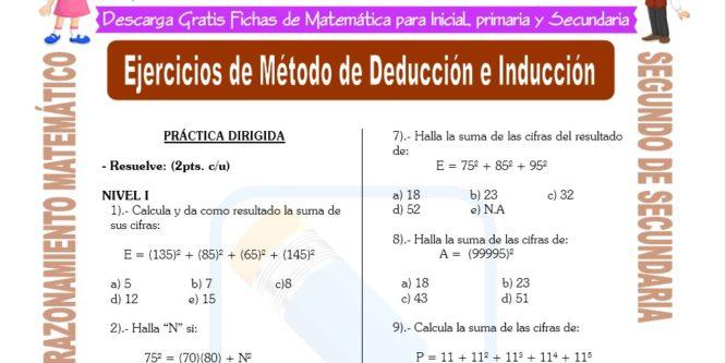 Actividades De Razonamiento Matemático 2 Secundaria Fichas Gratis