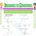 Problemas con Razones Trigonométricas de un ángulo de Cualquier Magnitud para Tercero de Secundaria