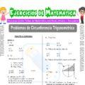 Problemas de Circunferencia Trigonométrica para Quinto de Secundaria