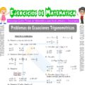 Problemas de Ecuaciones Trigonométricas para Quinto de Secundaria
