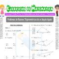 Problemas de Razones Trigonométricas de un Ángulo Agudo para Quinto de Secundaria