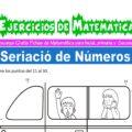 Ejercicios de Seriación de Números para Inicial de 5 Años