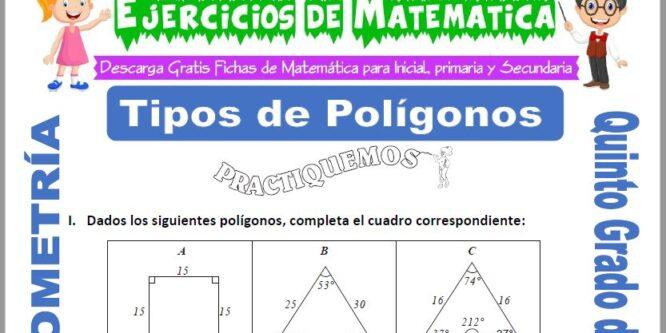 Tipos de Polígonos para Quinto de Primaria