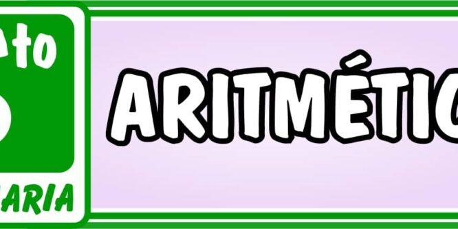 Aritmética Quinto de Primaria - Ejercicios de Matemática