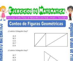Ejercicios de Conteo de Figuras Geométricas para Segundo de Primaria