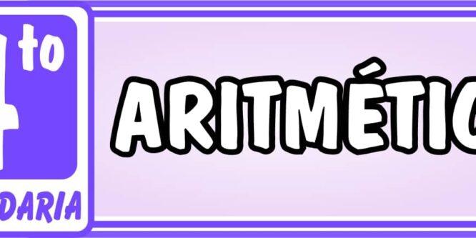Cuarto de Secundaria Aritmética - Ejercicios de Matemática