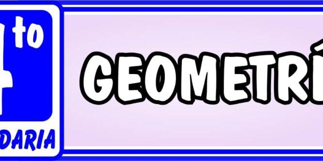 Cuarto de Secundaria Geometría - Ejercicios de Matemática