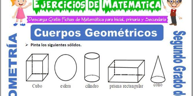 Cuerpos Geométricos para Segundo de Primaria