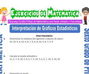 Ejercicios de Interpretación de Gráficos Estadísticos para Sexto grado de Primaria