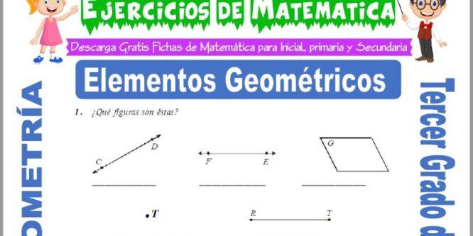 Elementos Geométricos para Tercero de Primaria