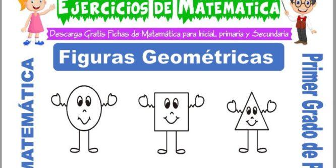 Actividades de Figuras Geométricas para Primero de Primaria