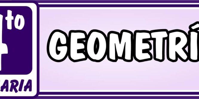 Geometría Cuarto de Primaria - Ejercicios de Matemática