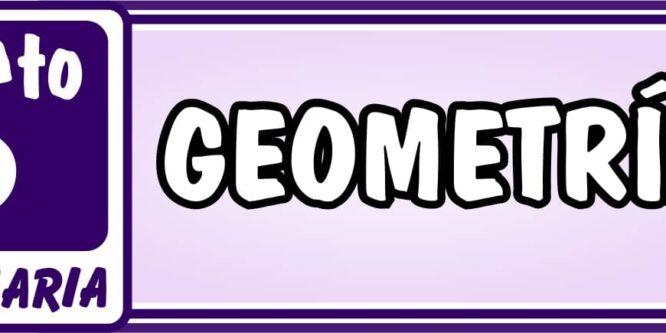 Geometría Quinto de Primaria - Ejercicios de Matemática