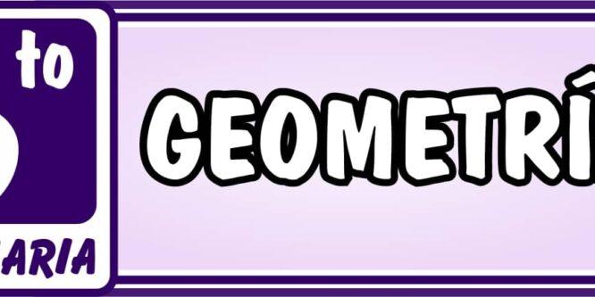 Geometría Sexto de Primaria - Ejercicios de Matemática