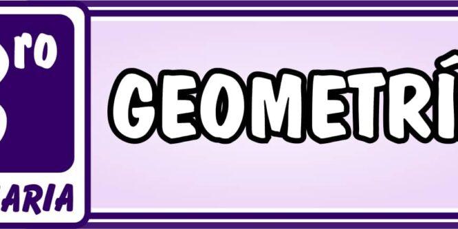 Geometría Tercero de Primaria - Ejercicios de Matemática