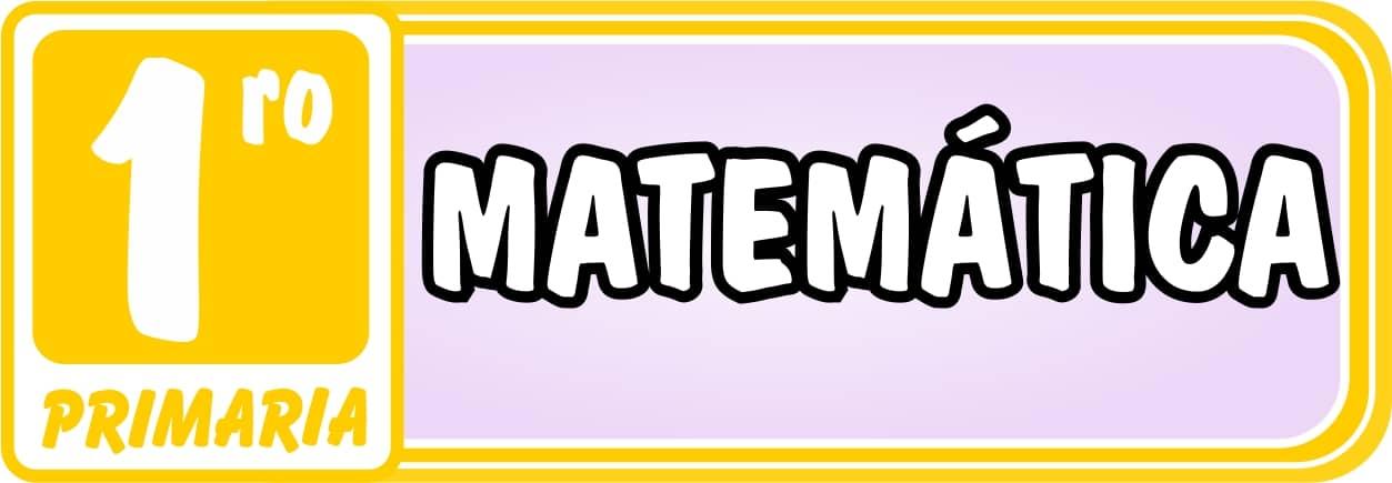 Matemática Primero de Primaria - Ejercicios de Matemática