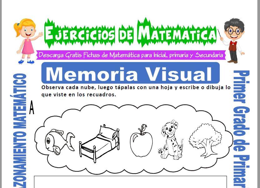 Memoria Visual para Primero de Primaria
