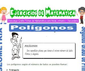 Ejercicios de Polígonos para Segundo de Primaria