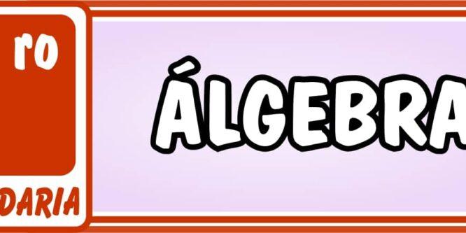 Primero de Secundaria Álgebra - Ejercicios de Matemática