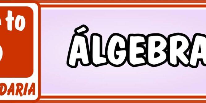 Quinto de Secundaria Álgebra - Ejercicios de Matemática