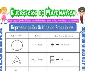 Ejercicios de Representación Gráfica de Fracciones para Segundo de Primaria
