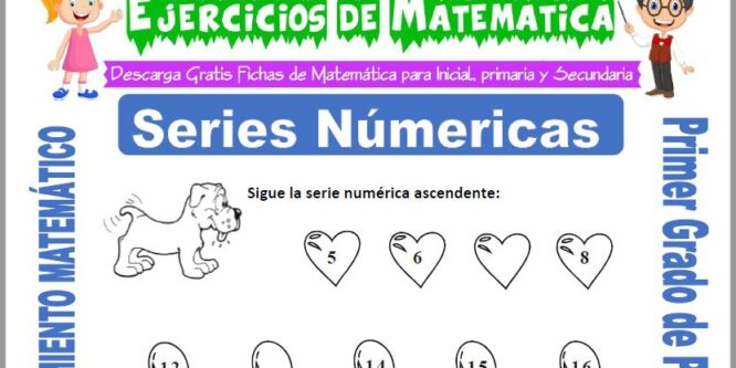 Series Numéricas para Primero de Primaria