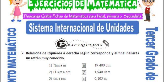 Sistema Internacional de Unidades para Tercero de Primaria