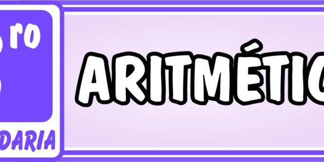 Tercero de Secundaria Aritmética - Ejercicios de Matemática